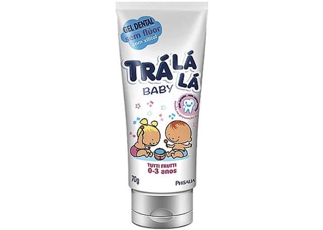 GEL DENTAL TRA LA LA BABY 70G TUTTI FRUT