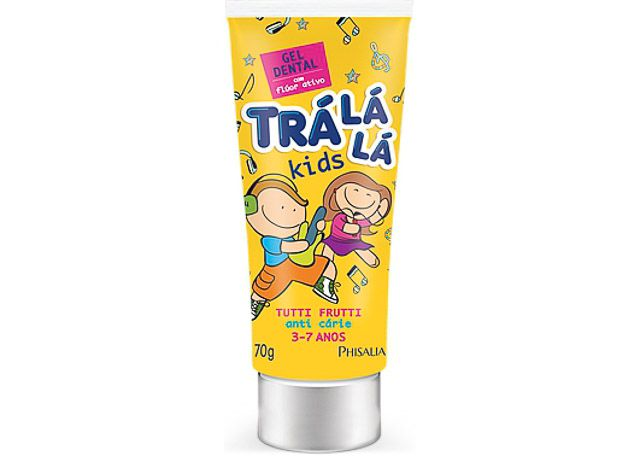 GEL DENTAL TRA LA LA KIDS 70G TUTTI FRUT