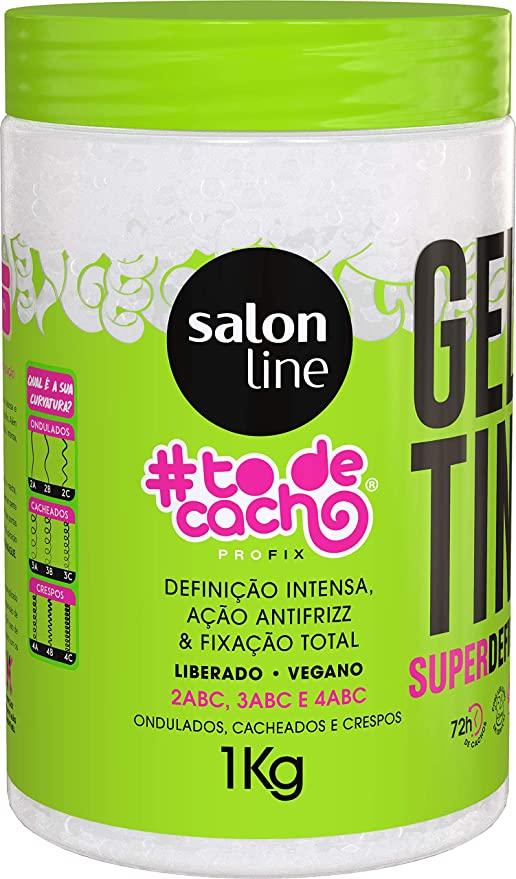 GELATINA CAPILAR TÔ DE CACHOS 1KG FIXA 95679