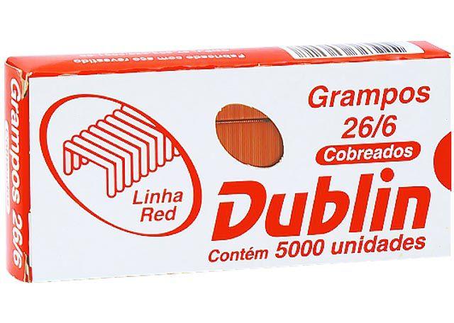 GRAMPO DUBLIN RED 26/6 5000P COBRE 6017