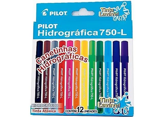 HIDROGRAFICA PILOT 750-L 12 PEÇAS