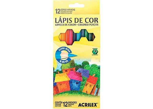 LAPIS COR ACRILEX 12C 9692