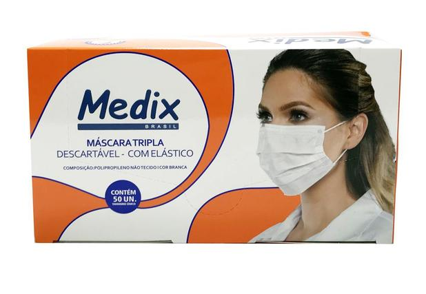 MASCARA TRIPLA VINILFLEX 50 PEÇAS 5587