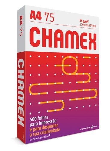 PAPEL CHAMEX A4 210X297 OFC075CA4