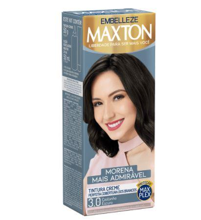 TINTURA MAXTON OX PF 30 CASTANHO ESCURO H 4420