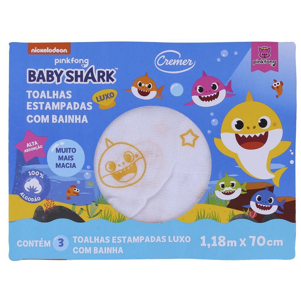 TOALHA LUXO BB SHARK 637724