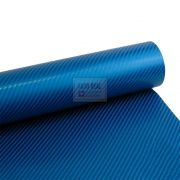 Adesivo Alltak Fibra Carbono 4D Blue Meta 1,50 x1,00m