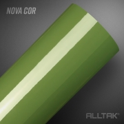 Adesivo Alltak Ultra Gloss Mandacaru Green 1,38m x 1,00m