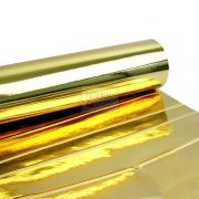 Adesivo Poliester Ouro Brilhante 1,00m x 1,00m