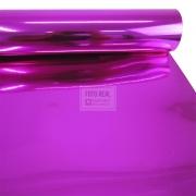 Adesivo Poliester Rosa Brilhante 1,22m x 1,00m