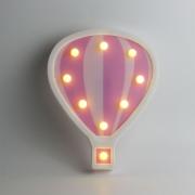 Luminária Led Balão Rosa