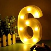 Luminária Led Número 6