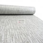 Papel de Parede Atemporal Cinza Textura Sergipe 3712 0,52 x 10,00m