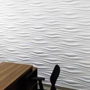 Placa 3D Autoadesiva Revestimento Pop Roma 0,50 x 0,50cm