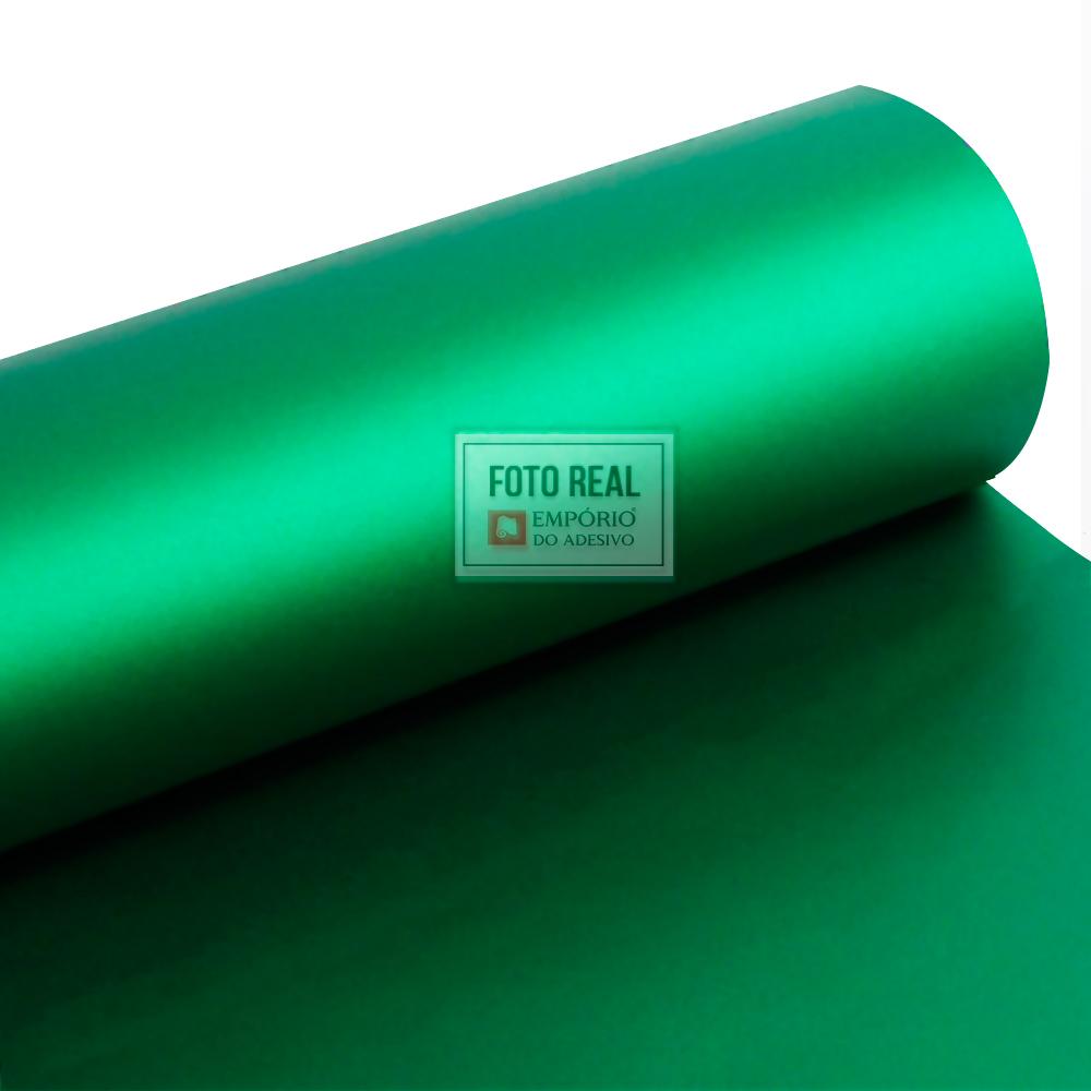 Adesivo Alltak Jateado Green Metallic 1,38m x 1,00m