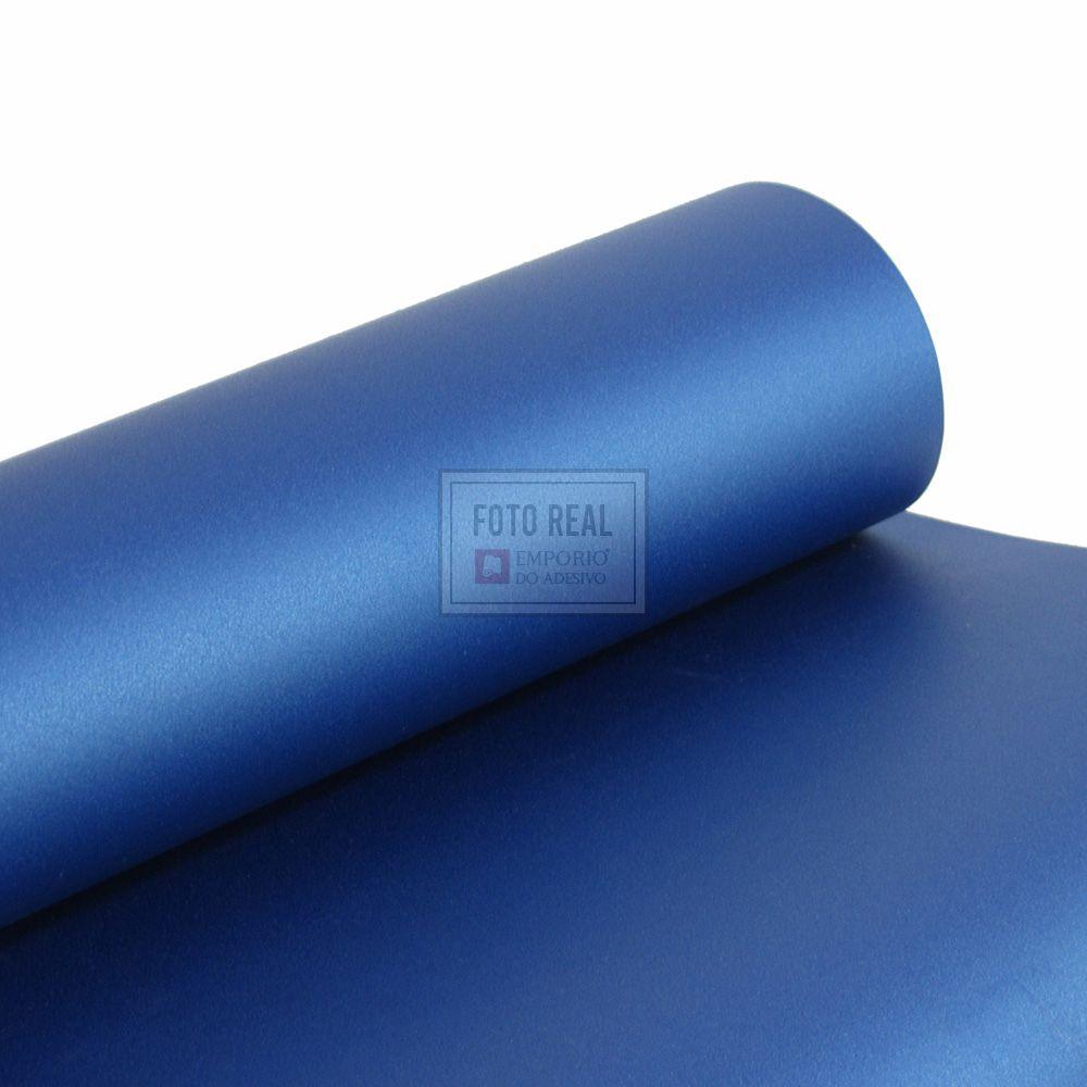 Adesivo Alltak Jateado Navy Blue Metallic 1,38m x 1,00m