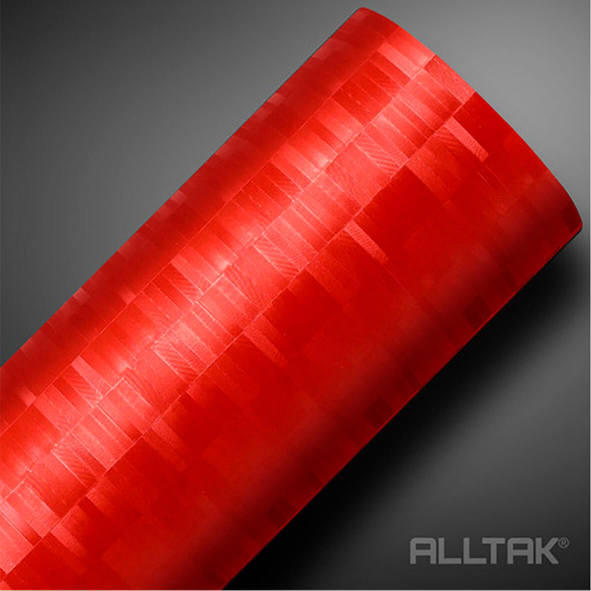 Adesivo Alltak Pixel Vermelho 1,38 x 1,00m