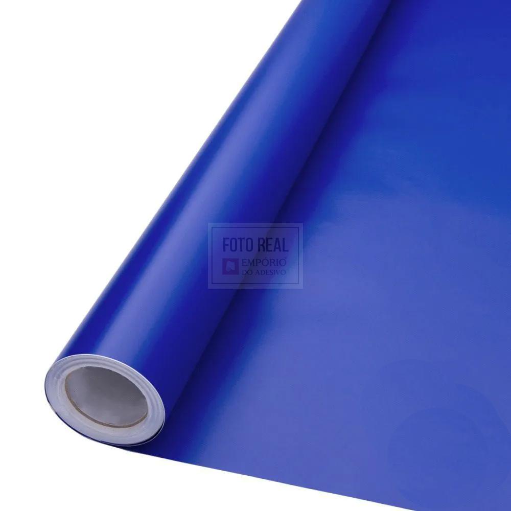 Adesivo Alltak Satin Fosco Azul Royal 1,38m x 1,00m