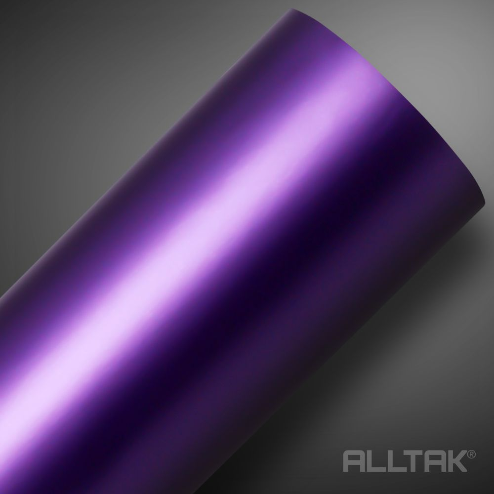Adesivo Alltak Satin Fosco Purple Metalic 1,38m x 1,00m