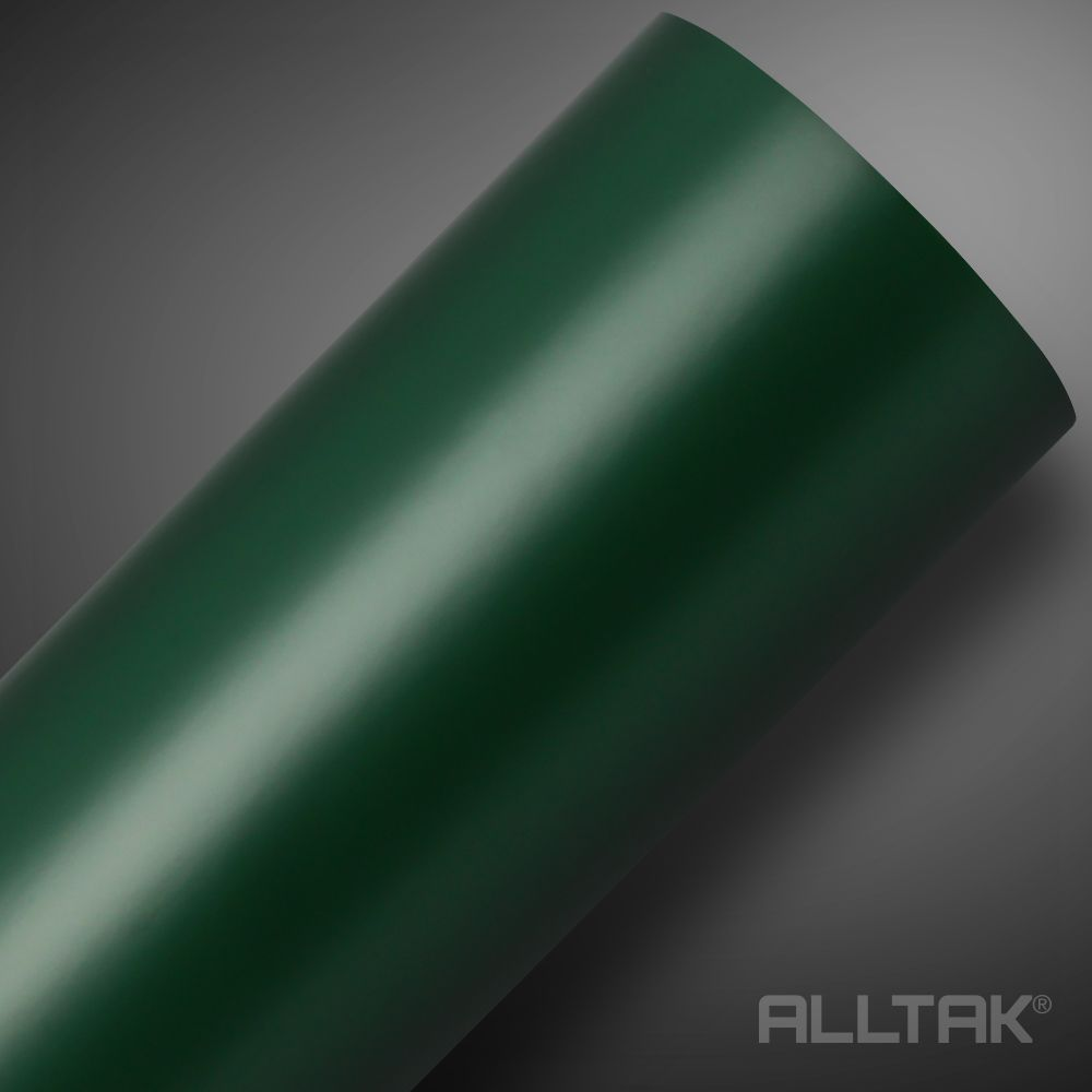 Adesivo Alltak Satin Fosco Verde Militar 1,38m x 1,00m