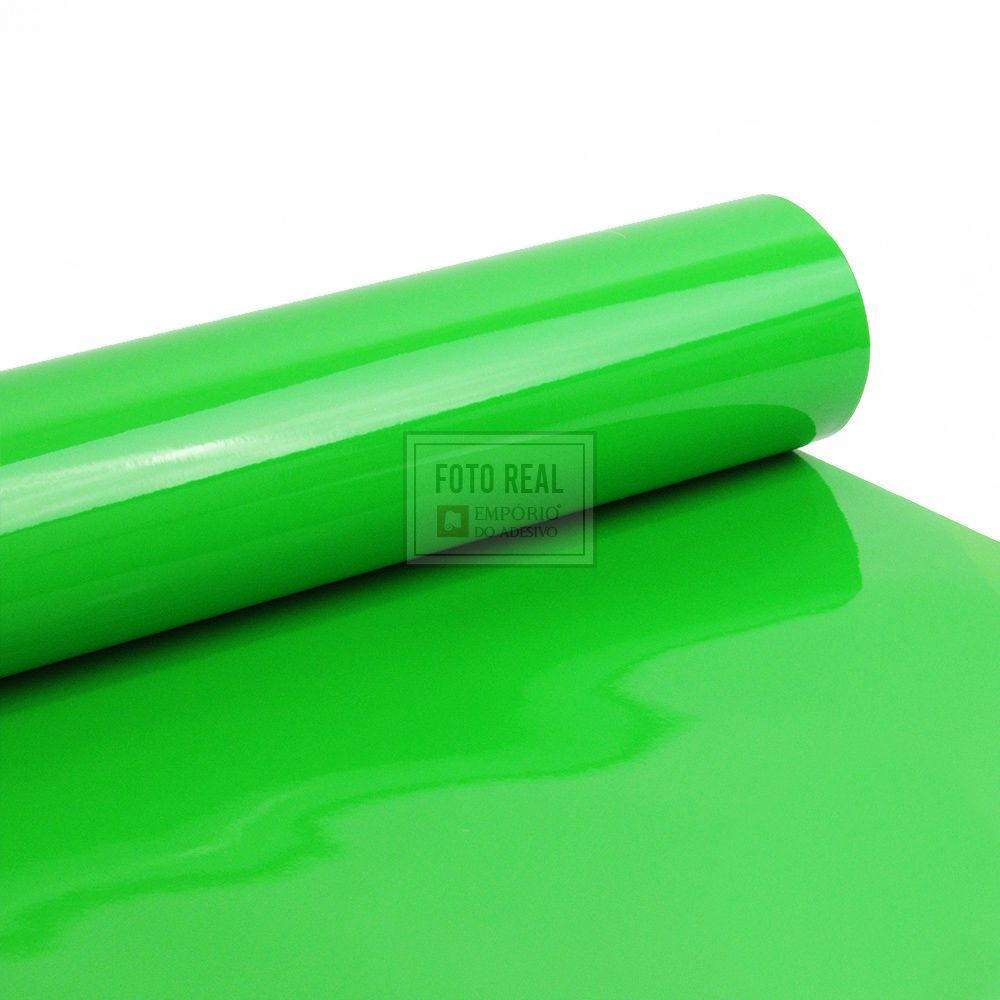 Adesivo Alltak Ultra Gloss Apple Green 1,38m x 1,00m