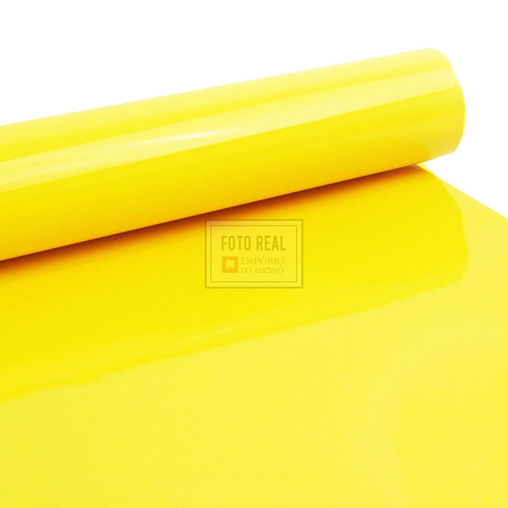 Adesivo Alltak Ultra Gloss Banana Yellow 1,38m x 1,00m