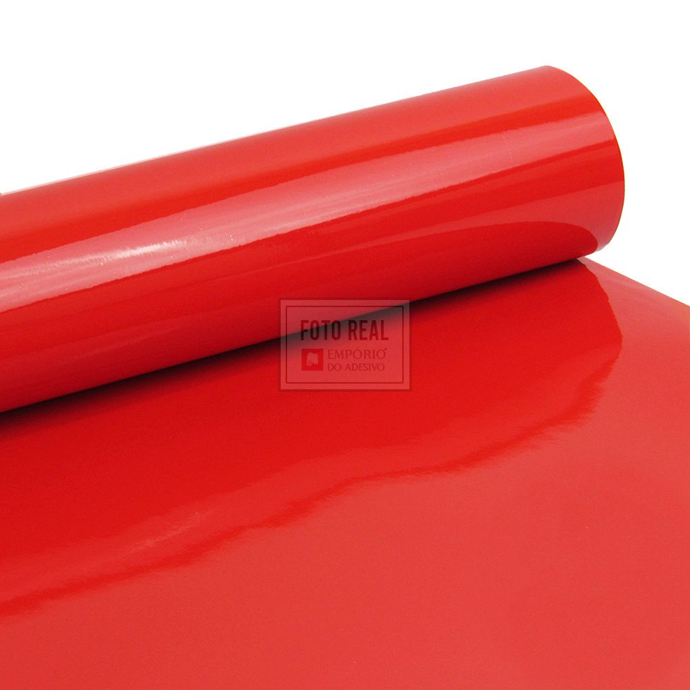 Adesivo Alltak Ultra Gloss Blood Red 1,38m x 1,00m
