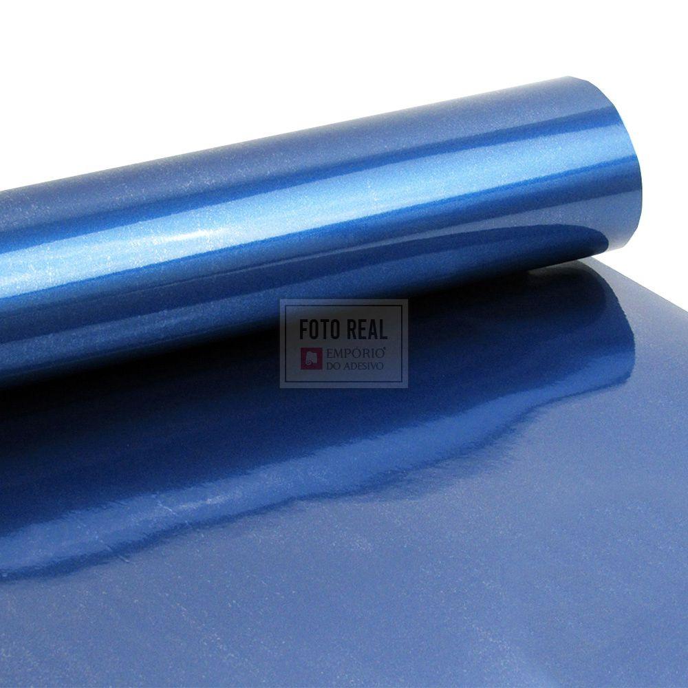 Adesivo Alltak Ultra Gloss Blue Metallic 1,38m x 1,00m