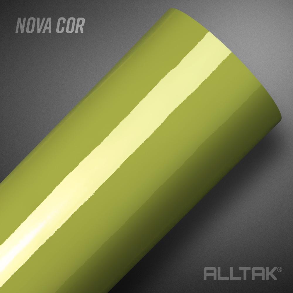 Adesivo Alltak Ultra Gloss Garapa Green 1,38m x 1,00m