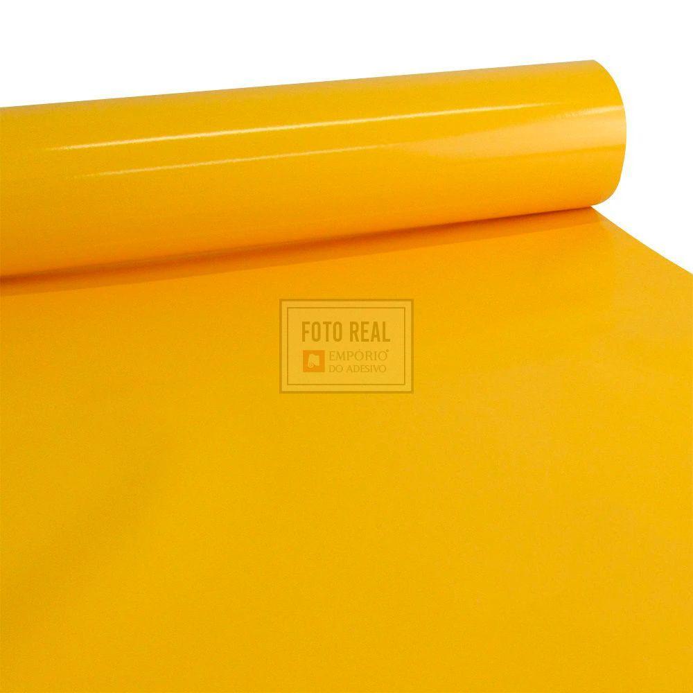 Adesivo Colormax Brilho Amarelo Canario 1,00m x 1,00m