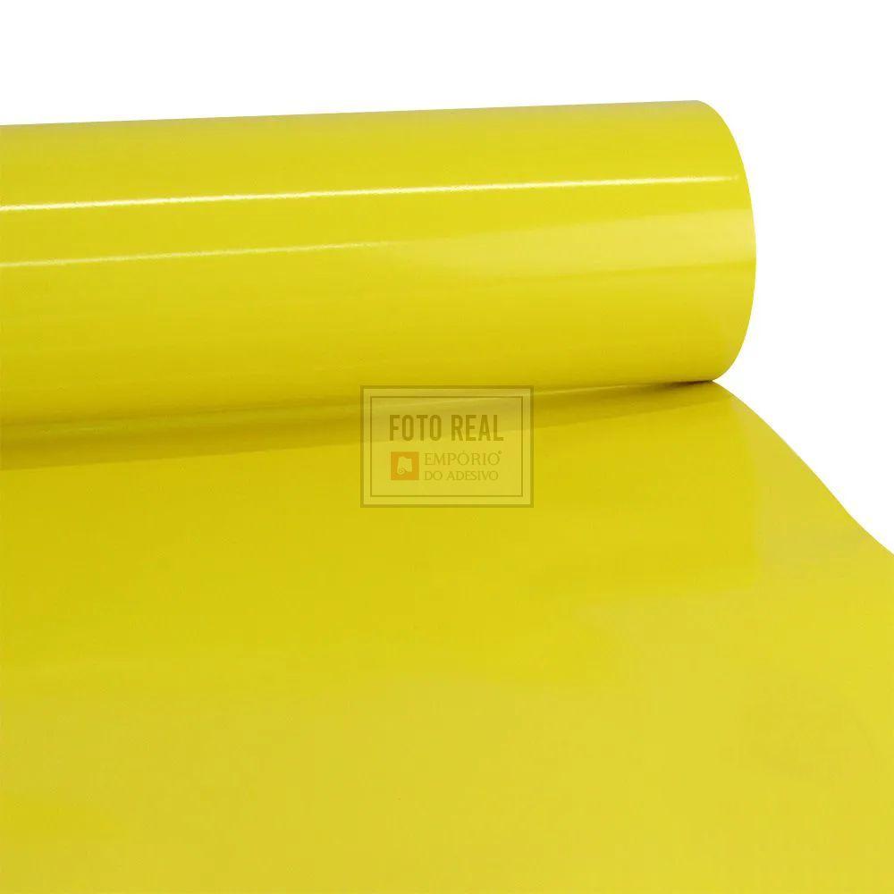 Adesivo Colormax Brilho Amarelo Milano 1,00m x 1,00m