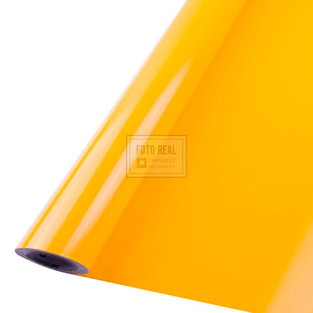 Adesivo Colormax Brilho Amarelo Ouro 1,00m x 1,00m