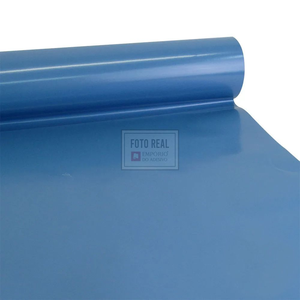 Adesivo Colormax Brilho Azul Indigo 1,00m x 1,00m