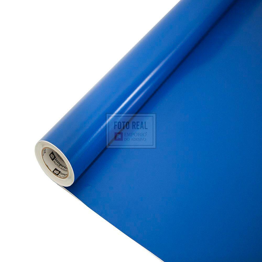 Adesivo Colormax Brilho Azul Medio 1,00m x 1,00m