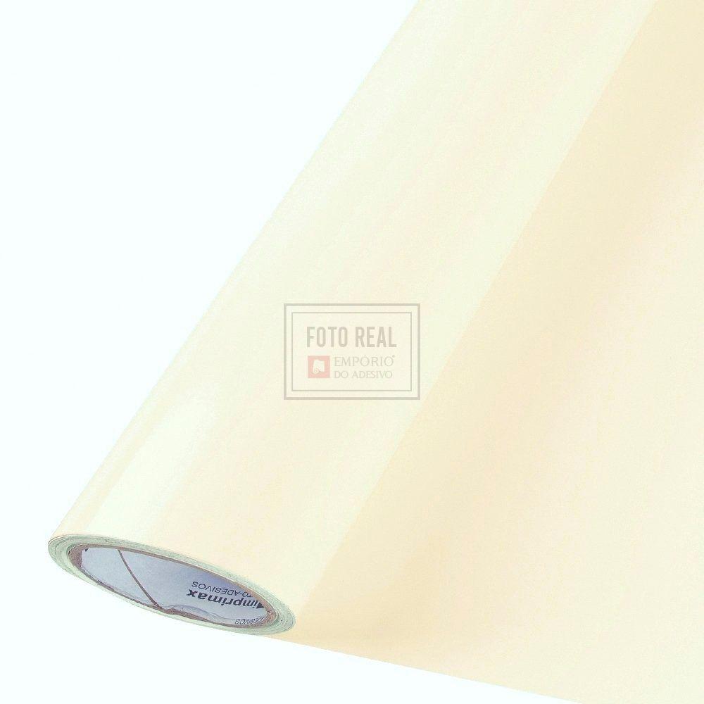 Adesivo Colormax Brilho Bege 1,00m x 1,00m
