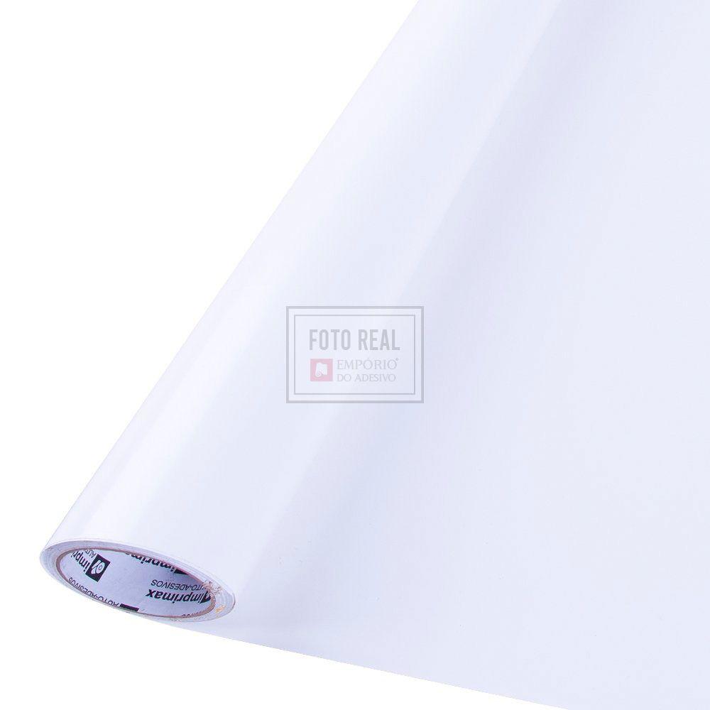 Adesivo Colormax Brilho Branco 0,08 0,50m x 1,00m