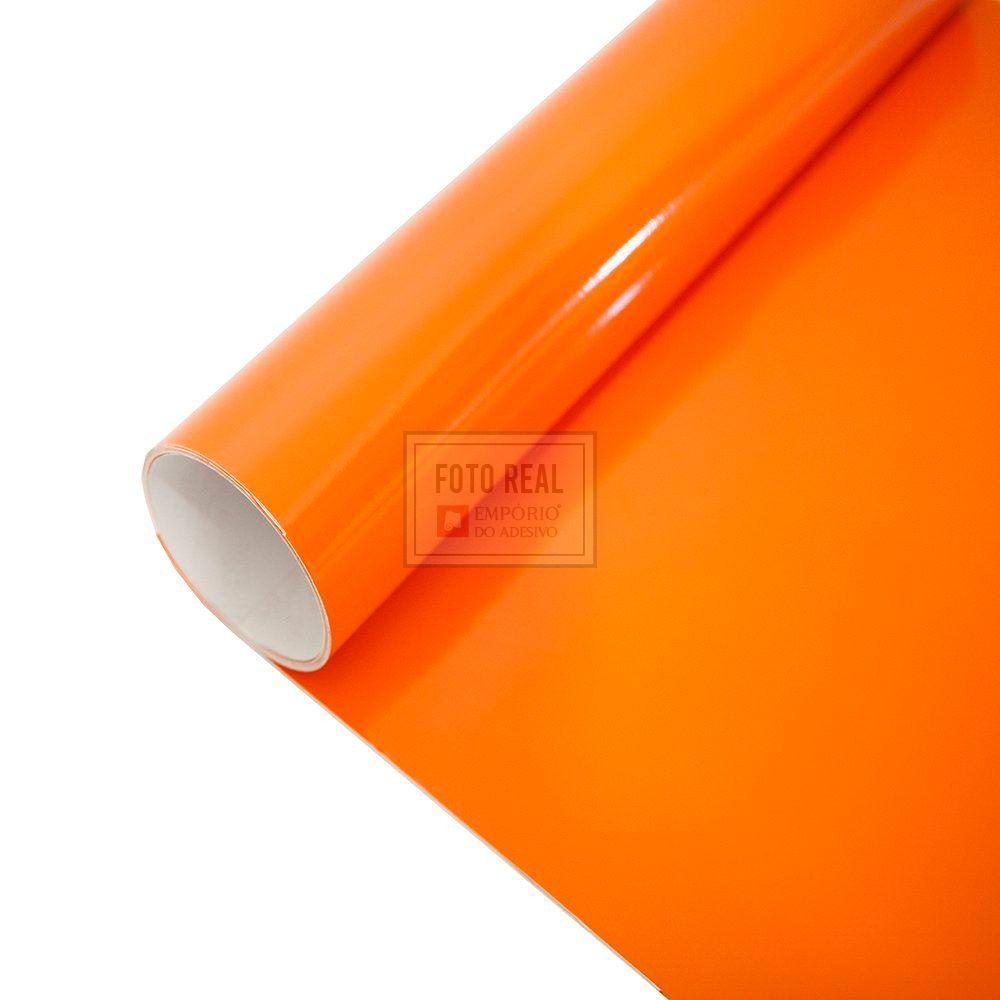 Adesivo Colormax Brilho Laranja 1,00m x 1,00m