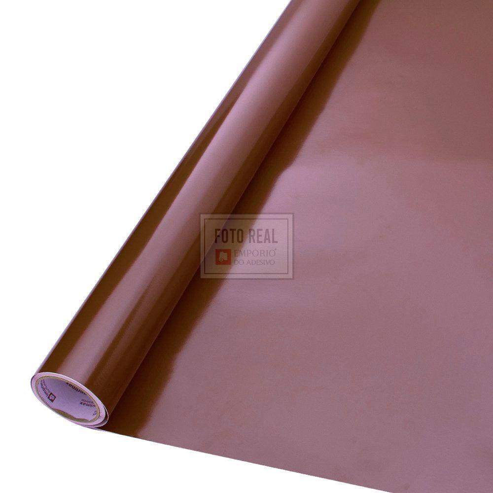 Adesivo Colormax Brilho Marrom 1,00m x 1,00m