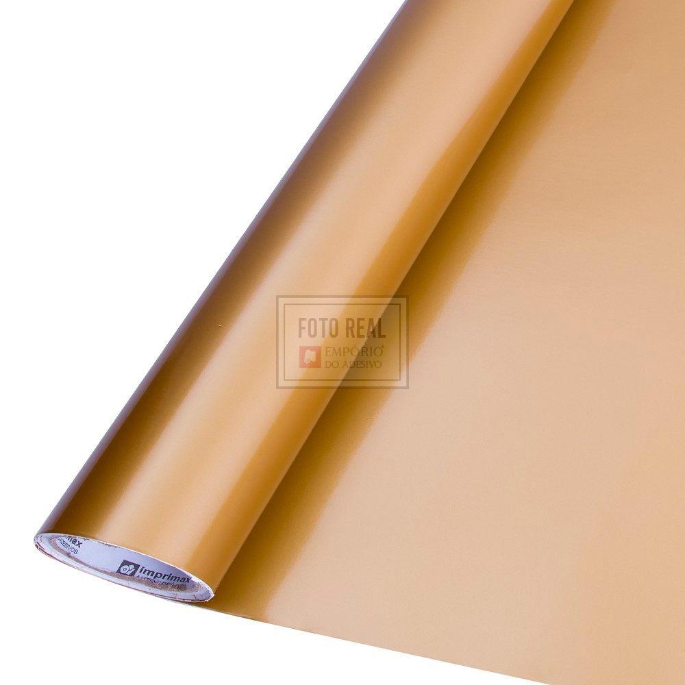 Adesivo Colormax Brilho Ouro 1,00m x 1,00m