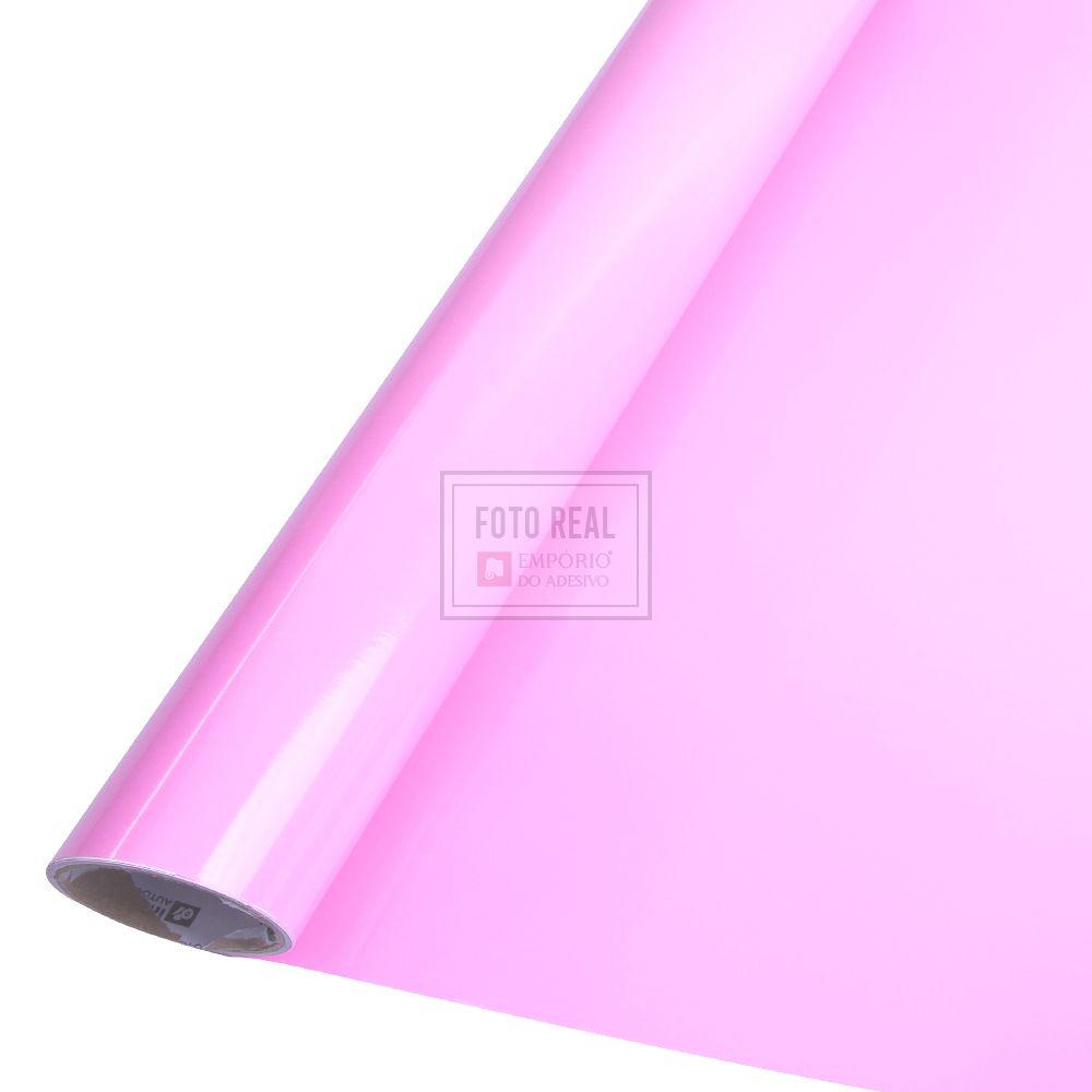 Adesivo Colormax Brilho Rosa Claro 1,00m x 1,00m