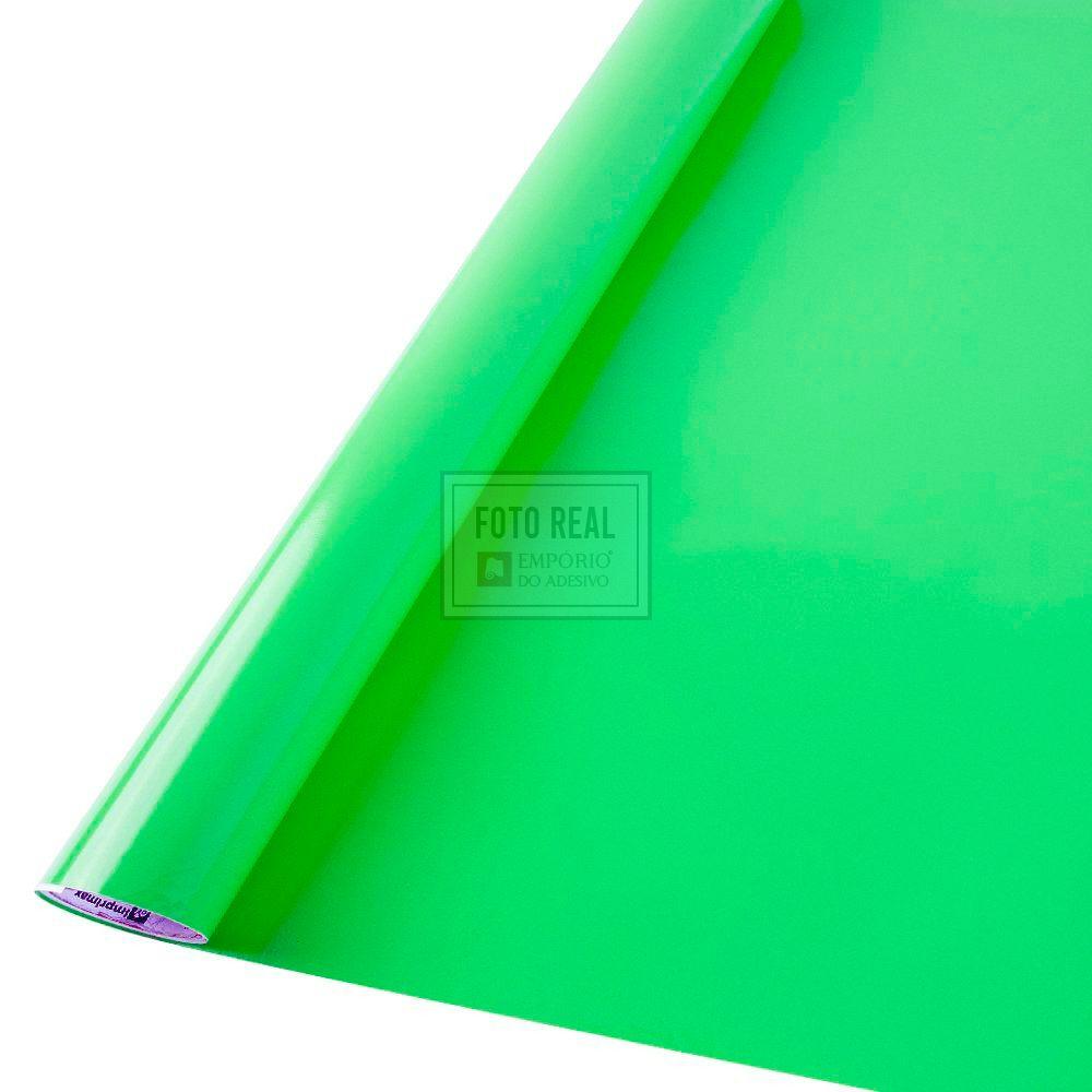 Adesivo Colormax Brilho Verde Abacate 1,00m x 1,00m