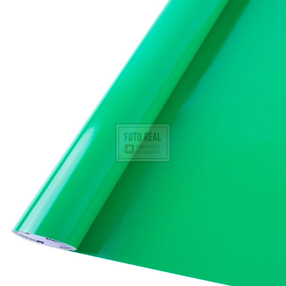 Adesivo Colormax Brilho Verde Amazonas 1,00m x 1,00m
