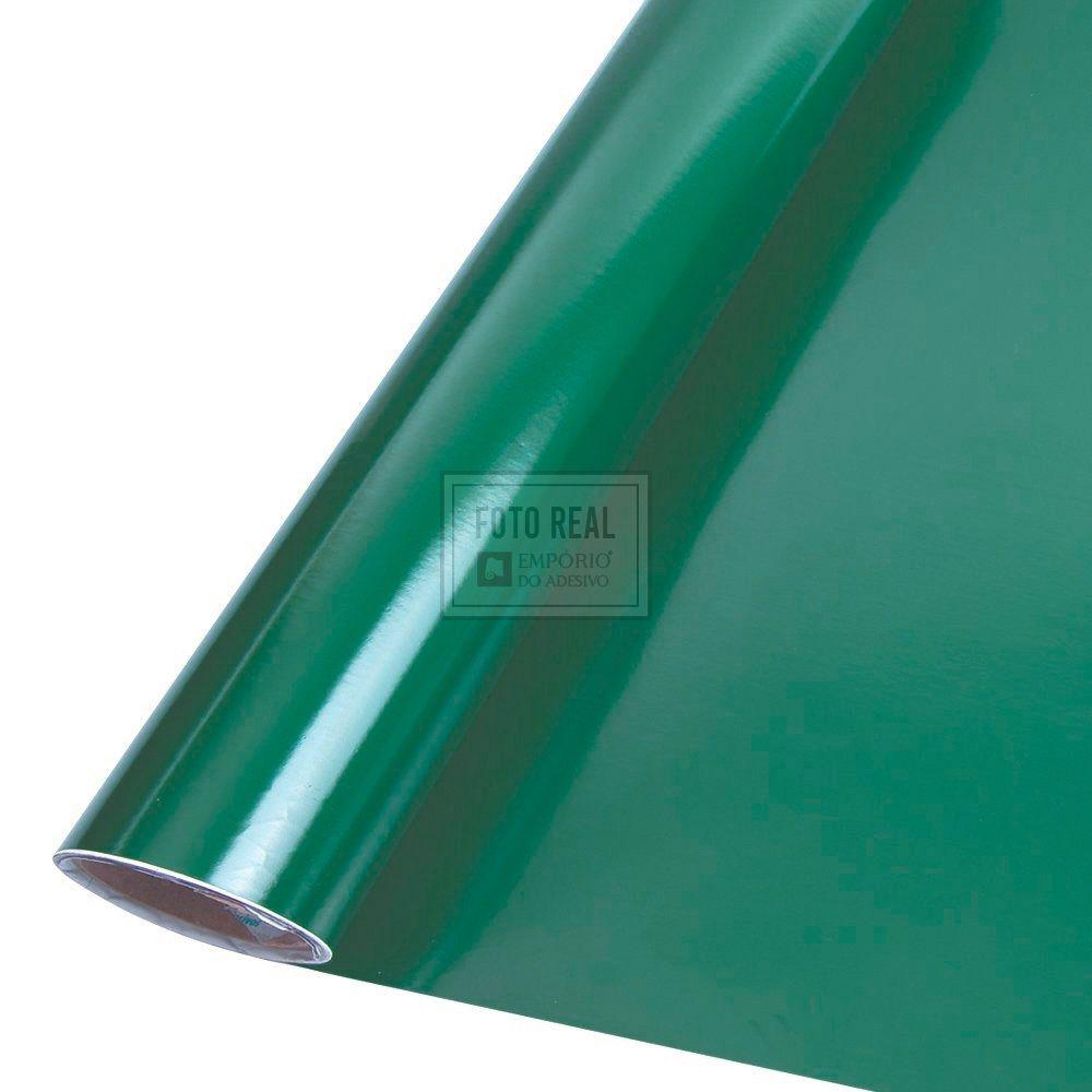 Adesivo Colormax Brilho Verde Escuro 1,00m x 1,00m