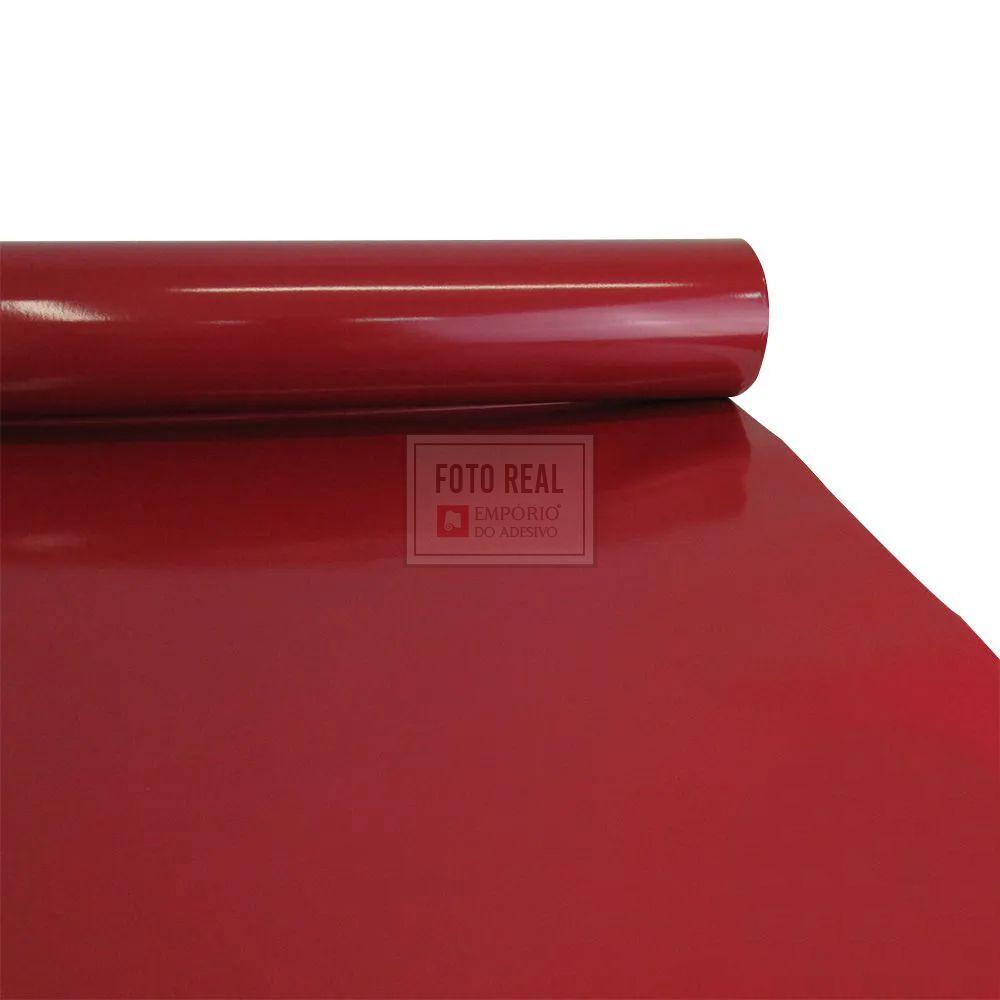 Adesivo Colormax Brilho Vermelho Escuro 1,00m x 1,00m