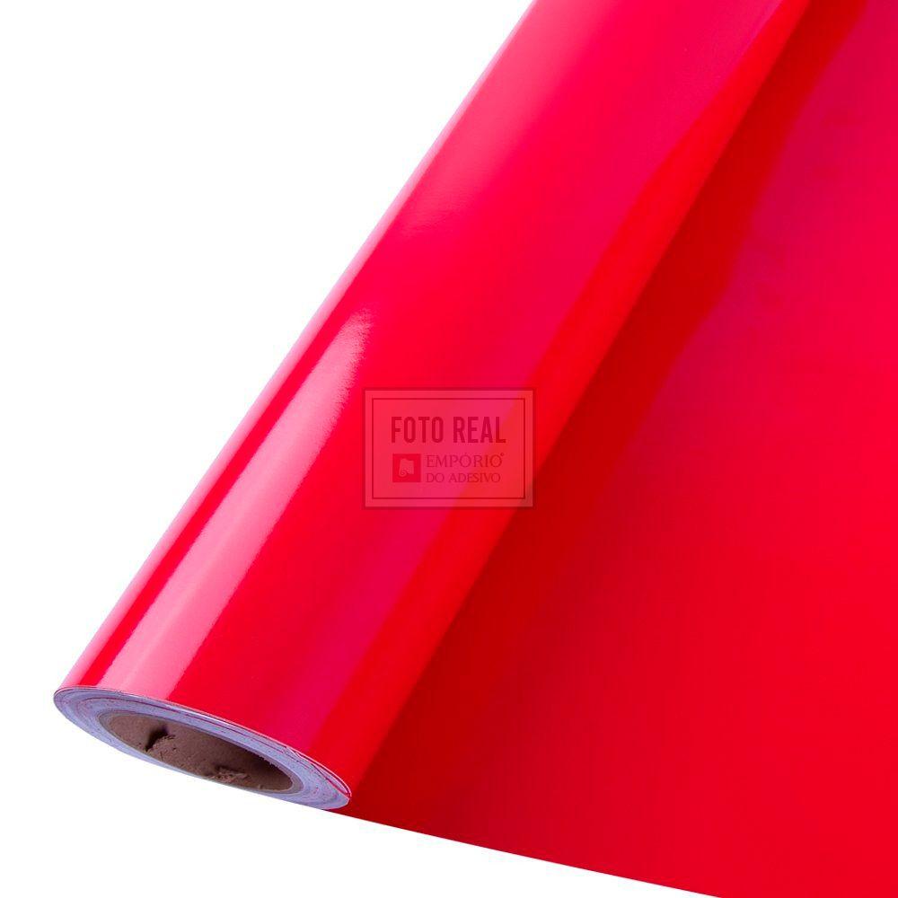 Adesivo Colormax Brilho Vermelho Radiante 1,00m x 1,00m