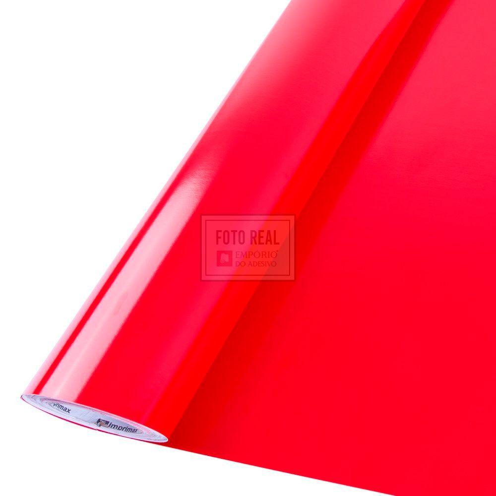 Adesivo Colormax Brilho Vermelho Tomate 1,00m x 1,00m