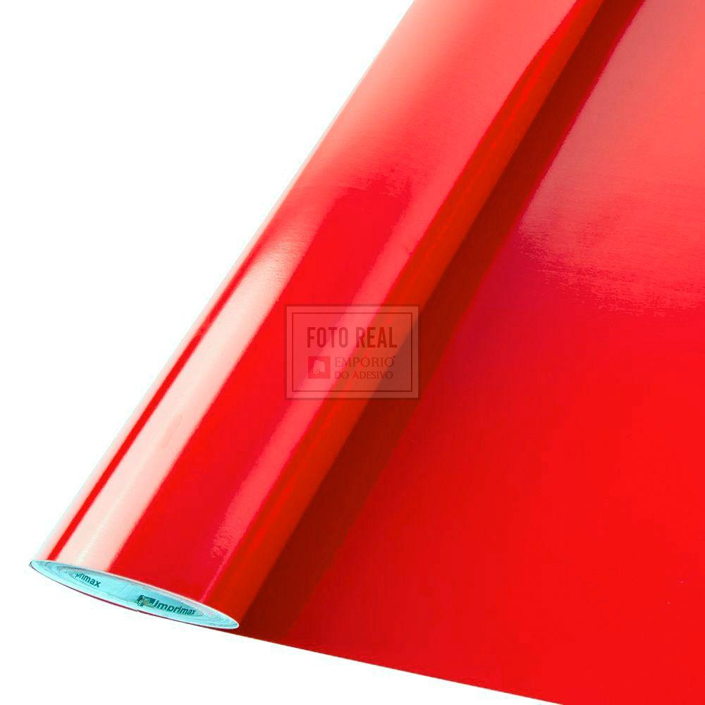 Adesivo Colormax Brilho Vermelho Vivo 1,00m x 1,00m