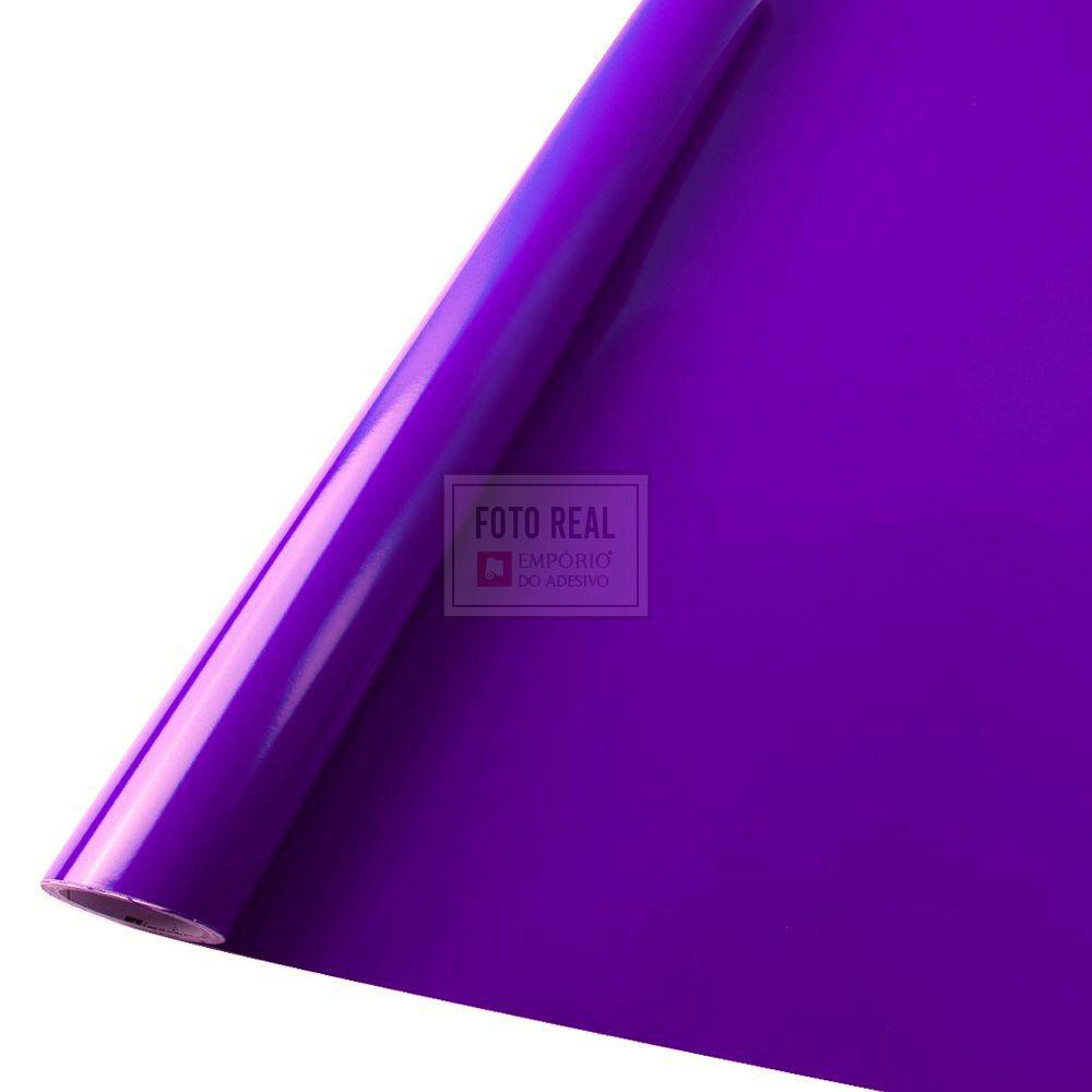 Adesivo Colormax Brilho Violeta 1,00m x 1,00m