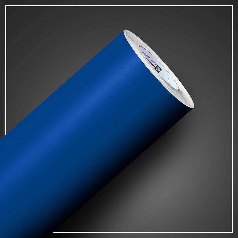 Adesivo Colormax Fosco Azul Indigo 1,00m x 1,00m