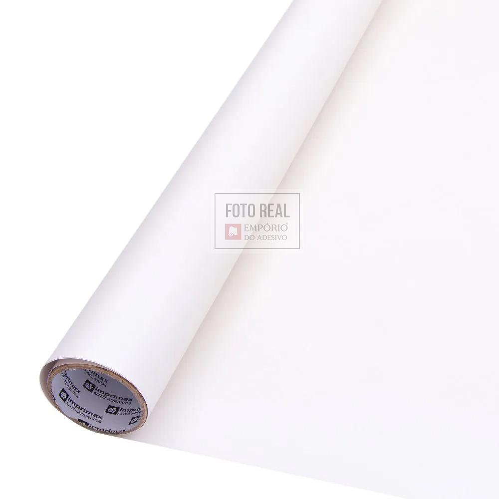 Adesivo Colormax Fosco Branco 1,00m x 1,00m